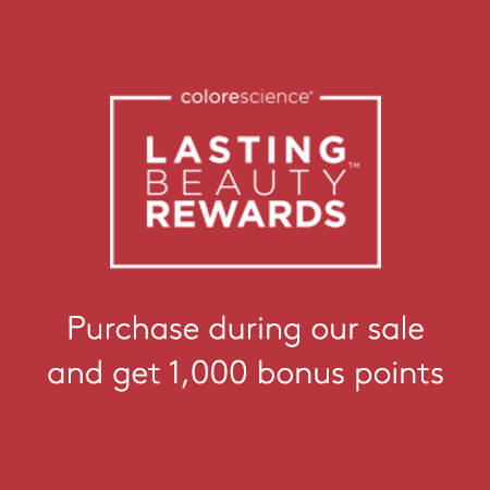 1,000 Bonus Lasting Beauty Rewards Points