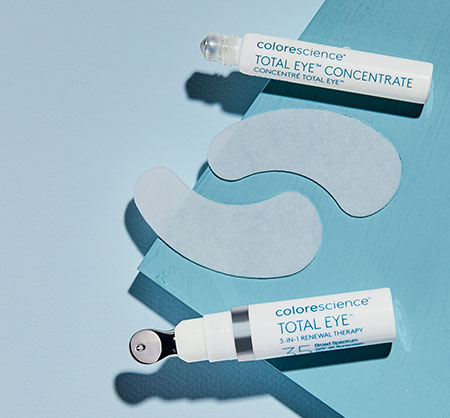 Total Eye product top view