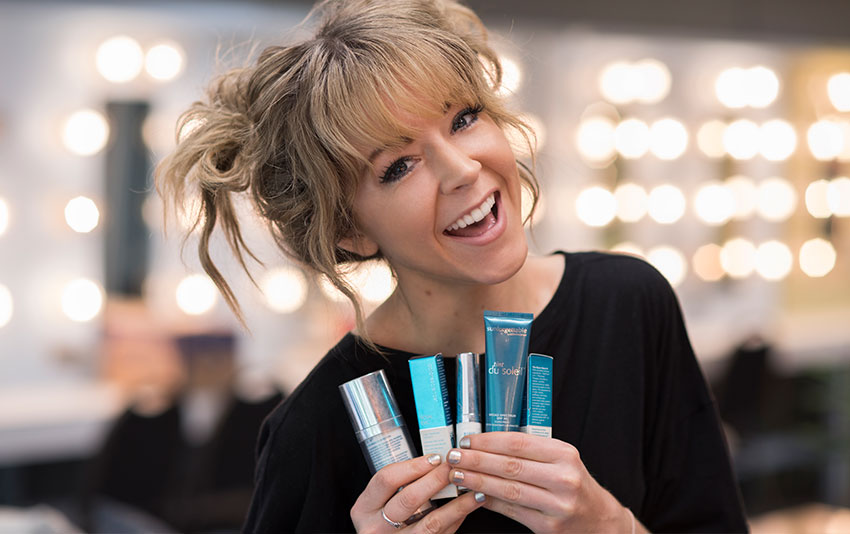 Lindsey Stirling spreads the word about sun protection