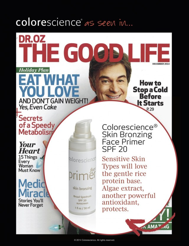 Dr. Oz The Good Life