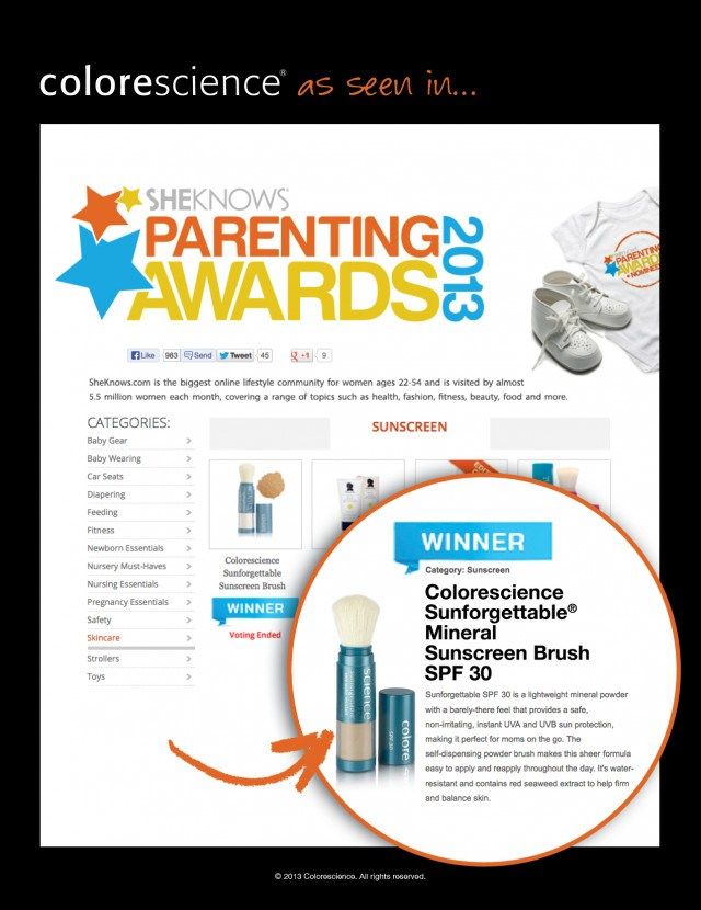 She Knows Parenting Awards