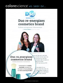 Duo Re-energizes Cosmetics Brand
