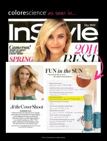 Cameron Diaz Loves Sunforgettable!