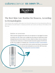 Fight redness with All Calm™