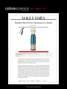 Summer Skin Savior: Sunscreen in a Brush