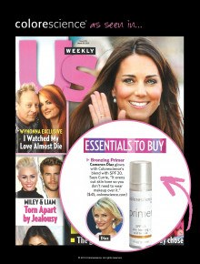 Colorescience in US Weekly