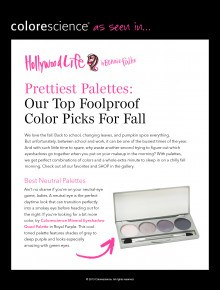 Prettiest Palettes for Fall
