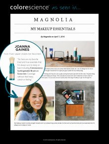 My Makeup Essentials - Joanna Gaines
